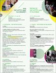 Cartel del Programa Fiestas de San Antón de Elgoibar 2019