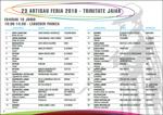 Folleto de la Feria de Artesanía de Trinidad de Elgoibar 2019