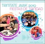 Cartel del Programa de las  Fiestas de Trinidad de Elgoibar 2019