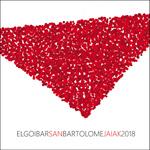 Cartel del Programa Fiestas de San Bartolomé de Elgoibar 2018