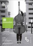 Cartel de la Temporada de abono 2016-2017 de la Orquesta Sinfónica de Euskadi