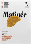 Cartel de Las Matinées de Miramón de Donostia 2019-2020