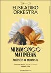 Cartel de Las Matinées de Miramón de Donostia 2020-2021