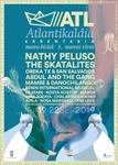 Cartel del Festival Atlantikaldia de Errenteria 2019
