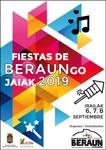 Cartel de Fiestas de Nuestra Señora de Guadalupe de Beraun de Errenteria 2019