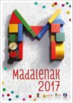 Cartel del Programa fiestas de las Magdalenas de Errenteria 2017