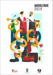 Cartel del Programa fiestas de las Magdalenas de Errenteria 2019