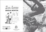 Cartel del Programa Fiestas de San Antón de Getaria 2020