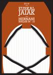 Cartel de la Euskal Jaiak de Hernani 2019