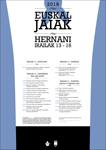 Cartel de la Euskal Jaiak de Hernani 2018