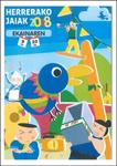 Cartel de las Fiestas de San Luis de Herrera en Donostia 2018