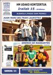 Cartel del concierto de Gremio de Mareantes y Juan Mari Beltran Laukotea