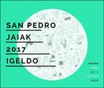 Cartel de las fiestas de San Pedro de Igeldo 2017