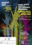 """Cartel del curso """"La música nos une. Juntos en la diversidad"""""""