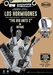 Cartel del concierto Los Hormigones + Infame de Donostia 2018