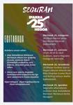 """Cartel de la Semana Cultural """"Iparra-Hegoa"""" de Segura 2020"""