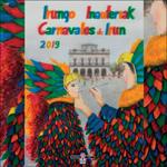 Cartel de los Carnavales de Irun 2019