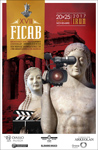 Cartel del Festival Internacional de Cine Arqueológico del Bidasoa 2017
