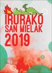 Cartel de las Fiestas de San Miguel de Irura 2019