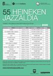 Cartel de la Selección de Grupos Locales del Jazzaldia de Donostia 2020