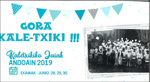 Cartel de las Fiestas de San Pedro de Kaletxiki de Andoain 2019