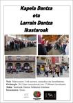 Legazpiko Larrain Dantza eta Kapela Dantza ikastaroen kartela 2020