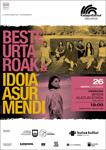Cartel del concierto: Beste urtaroak e Idoia Asurmendi de Hernani 2020