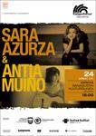 Cartel del concierto de Sara Azurza + Antía Muíño de Azpeitia 2021