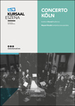Concerto Köln orkestraren kontzertuaren kartela