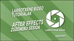 Donostiako Larrotxeneren After effects tutoriala kartela 2020