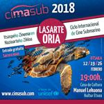 Cartel del Ciclo Internacional de Cine Submarino de Lasarte-Oria 2018