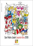 Cartel de las fiestas de San Pedro de Lasarte-Oria 2019
