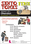Cartel del Día de Santo Tomás