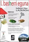 Cartel del Basherri Eguna de Lazkao 2012