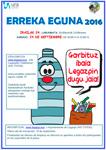 Erreka Eguna 2016 - Cartel