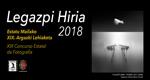 "Folleto del Concurso de Fotografía ""Legazpi Hiria"" 2018"