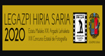 """""""Legazpi Hiria"""" Argazki Lehiaketaren foiletoa 2020"""
