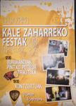 Cartel de las Fiestas de Kale Zaharra de Legazpi 2018