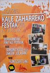 Cartel de las Fiestas de Kale Zaharra de Legazpi 2019