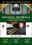 Cartel del concierto de Itziar Urbieta en Legazpi 2021