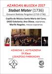 "Concierto ""Stabat Mater"""
