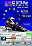 Cartel del Speeddown Cup de Legazpi 2019