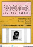 Legorretako Nøgen + Serrulla kontzertuaren kartela 2019