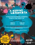 """Cartel del Concurso """"Cómic de ciencia ficción ambientado en Donostia"""" 2020"""