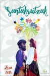 Cartel de las Fiestas de Santa Cruz de Lezo 2018