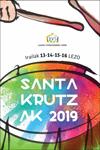 Cartel de las Fiestas de Santa Cruz de Lezo 2019