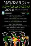 Cartel de la Feria Agrícola y Ganadera de la Concepción de Mendaro
