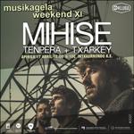 Cartel del concierto Musikagela Weekend XI de Donostia 2021