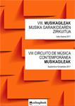 Cartel del Musikagileak, Circuito de Música Contemporánea 2017