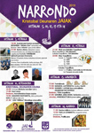 Cartel de las fiestas de San Cristobal de Narrondo 2019